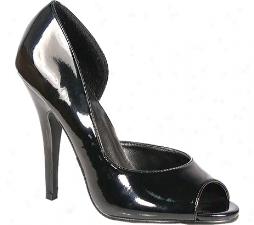 Pleaser Seduce 212 (women's) - Black Patent