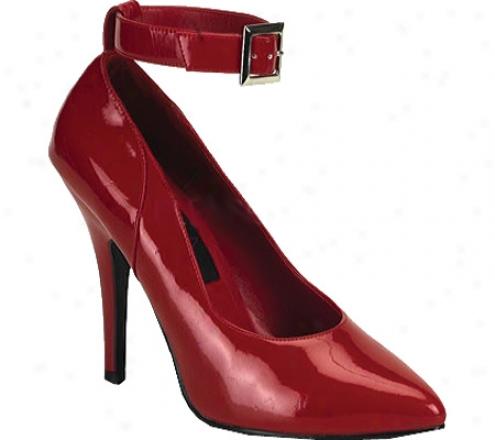 Pleaser Seduce 431 (women'ss) - Red Patent