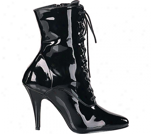Pleaser Vantity 1020 (women's) - Black Patent