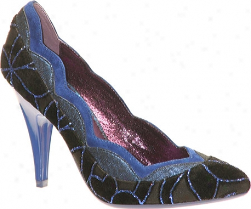 Poetic Licence Birdcage (women's) - Blue Fabric/suede