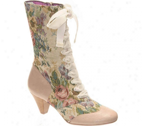 Poetic Licence Lady Victoria (women'ss) - Bone Fabric/leather