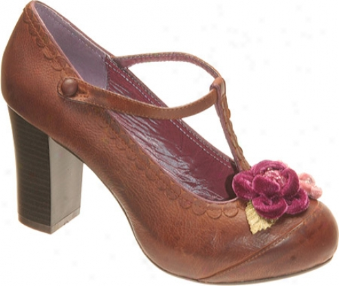 Poetic Licence London Calling (women 's) - Brown Leather/satin