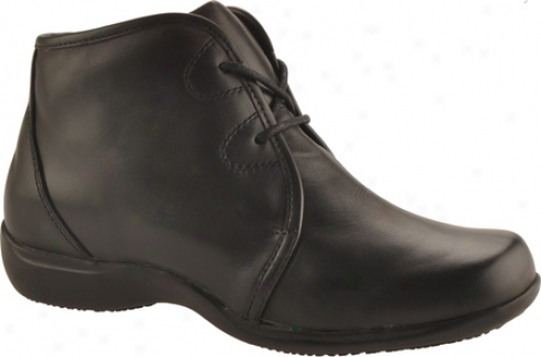 Portlandia Voyager (women's) - Black Burnished Calfskin