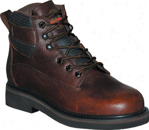 """pro Line Rt Series 6"""" (men's) - Dark Brown Oiled Full Grain Leather"""