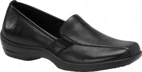 Pro-step Kate (women's) - Black Leathef
