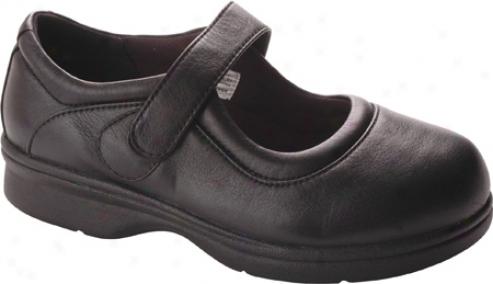 Propet Eve Walker (women's) - Nappa Black Leather