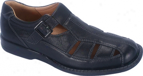Propet Malibu (men's) - Black Tumbled