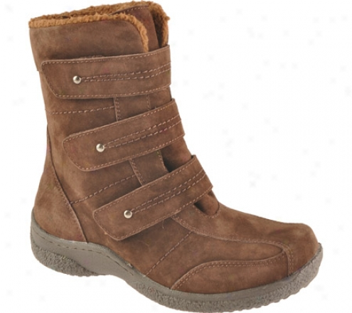 Propet Stow e(women's) - Brownie Suede