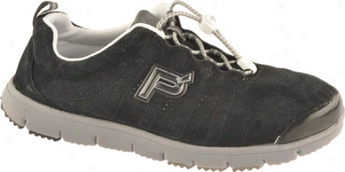 Propet Journey Walker Suede (men's) - Black