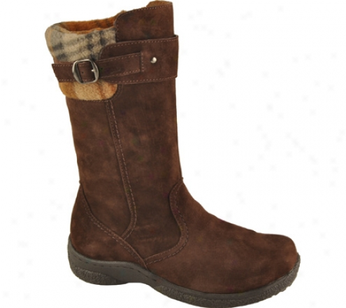Propet Vail (women's) - Brownie/brown Plaid