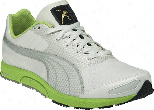 Puma Bolt Faas 200 (women's) - White/puma Silver/lime Punch