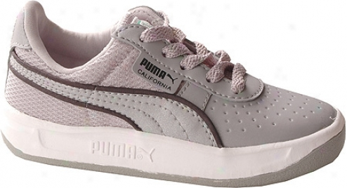 Puma California Ii (chilldren's) - Puma Silver/black