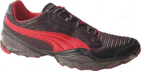 Puma Cell Meio (men's) - Black/ribbon Red