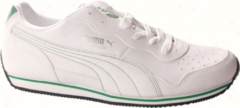 Puma Commander Us (men's) - White/amazon