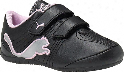 Puma Etoile Cat V Kids (infant Boys') - Black/limestone Gey
