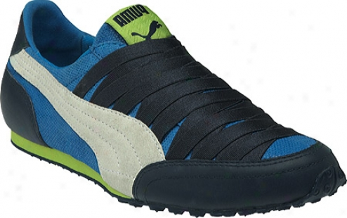 Puma Imani Shimmer (women's) - Insignia Blue/lime Punch
