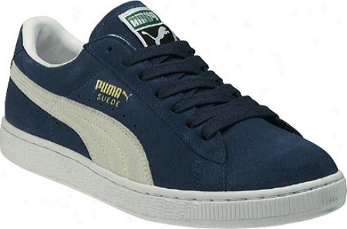 Puma Suede Archive Eco (men's) - Ensign Blue/white