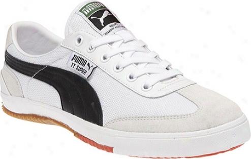 Puma Tt Super Cc (men's) - White/blavk