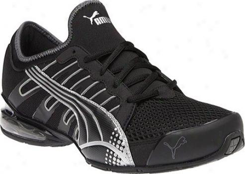 Puma Voltaic 3 (men's) - Black/puma Silver