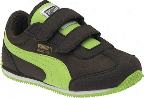 Puma Whirlwind V (infant Boys') - Black Coffee/lime Punch/chocolate Brown