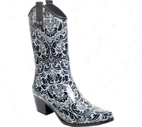 Rainbops Cowgirl Style Rain Boot (women's) - Dusyy