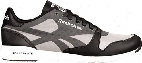Reebok Classic Leather Ultralite Packable (men's) - Black/flat Grey/white