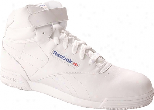 Reebok Ex-o-fit Hi Clean (men's) - White