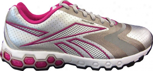Reebok Hexride Bislett (women's) - Silver/white/wildberry