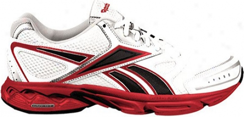 Reebok Instant (men'a) - White/pure Silver/black/excellent Red