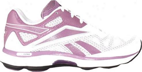 Reebok Runtone Create (women's) - White/preludde Purple