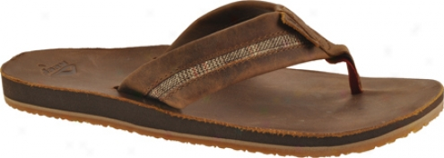 Reef Bonzer (men's) - Brown Plaid