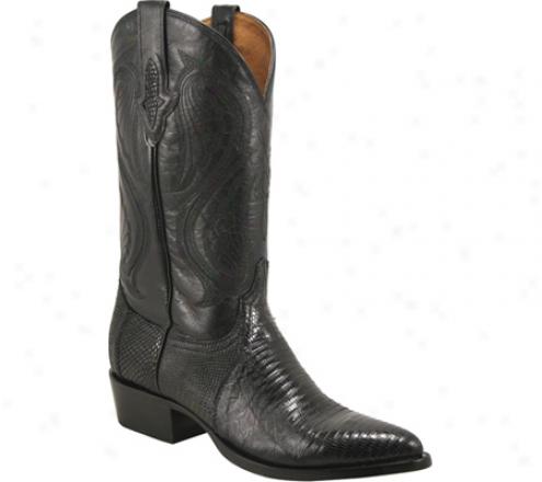 Resistol Ranch M3020 (men's) - Black Lizard/kid Leather