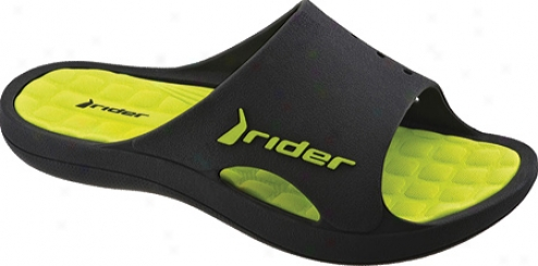 Rider Bay (men's) - Black/green