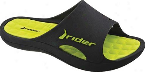 Rider Bay (men's) - Black/green