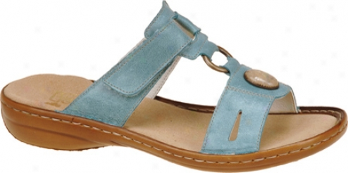 Rieker-antistress Regina 84 (women's) - Turquoise Leather