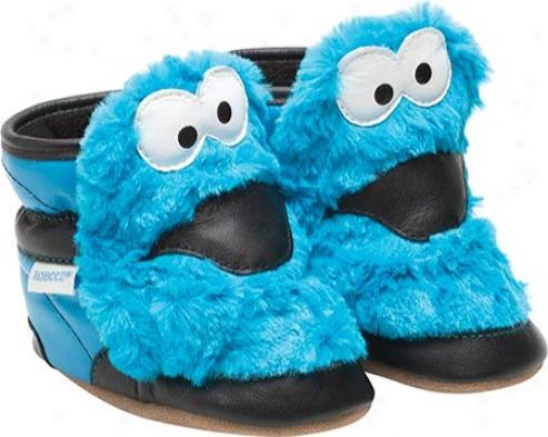Robeez 3d Cookie Monster (infants') - Blue
