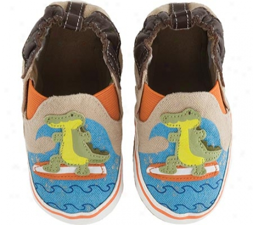 Robeez Hangin Ten Gator (infant Boys') - Sandstone