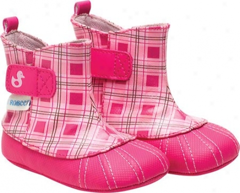 Robesz Just Ducky Bootie (infant Girls') - Hot Pink/pastel Pink