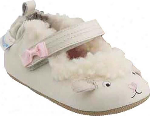 Robeez Mini Shoez 3d Littl Lamb (Babe Girls') - Vanilla
