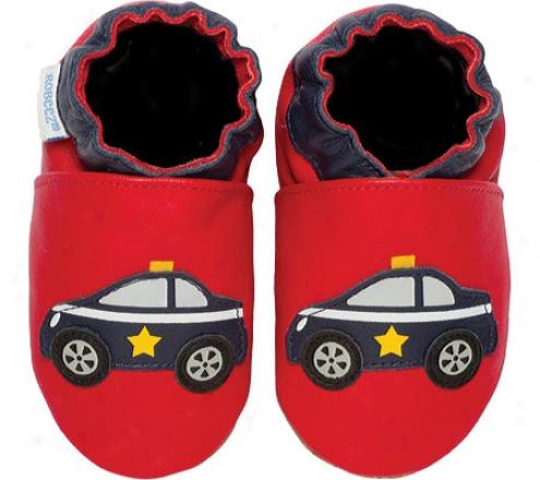 Robeez Police Car (infant Boys') - Red/navy