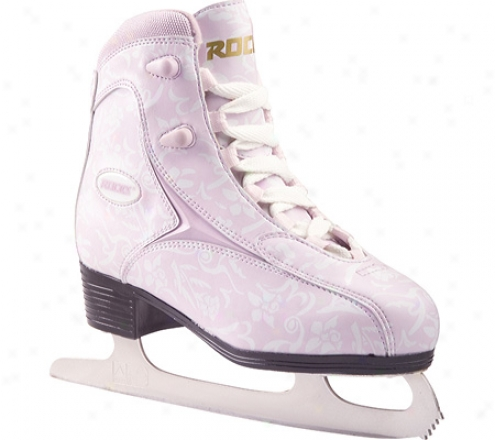 Roces 541 Softboot Imagine Skate (women's) - Pink/white Flowers