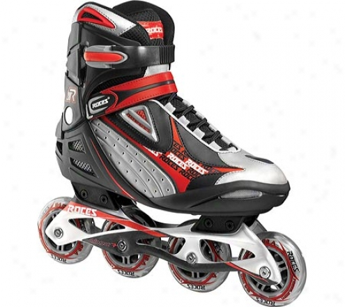 Roces 621 Inline Skates R200 (men's) - Black/red