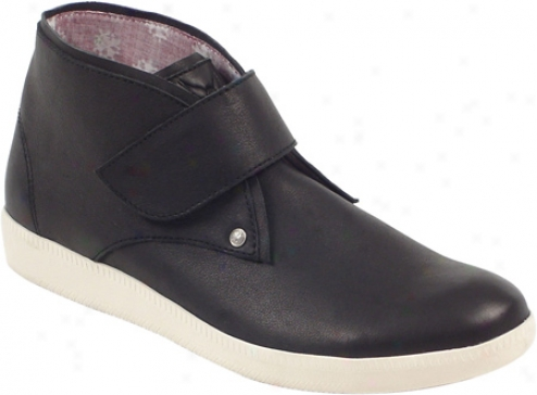 Rockadelic Addiction (men's) - Black Smooth Leather