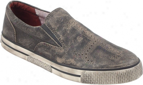Rockadelic Explosion (men's) - Grey Washed Leatner