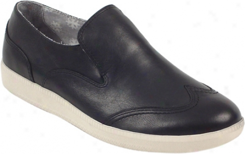 Rockadelic Rhapsody (men's) - Black Smooth Lea5her