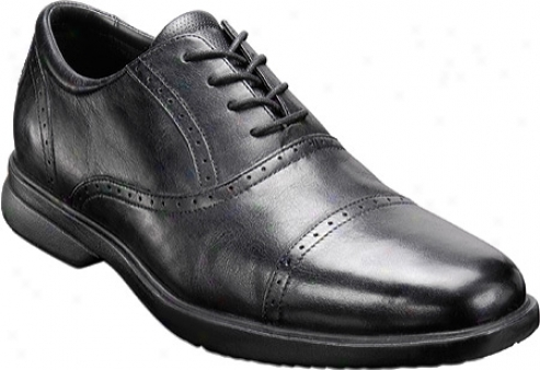 Rockport Anniello (men's) - Black Full Grain Leathsr