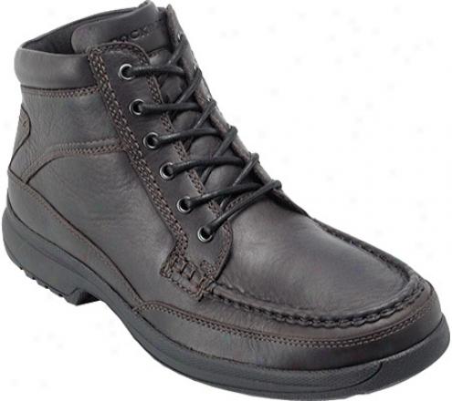 Rockport Basalt (men's) - Dark Brown Full Grain Leather