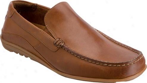 Rockport Cape Noble (men's) - Light Tan Full Grain Leather