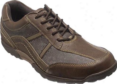 Rockport City Trails Stripe Lace Up (men's) - Dark Brown Full Grain Leather