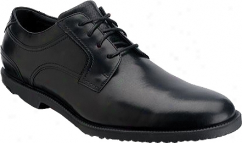 Rockport Dressports Captoe (men's) - Black Full Grain Leather